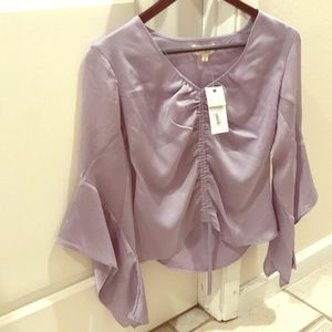 Ultra Flirt Sheen Lavendar Top from Macy's